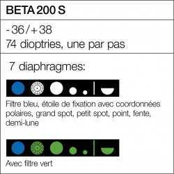 Diaphragmas Ophtalmoscope HEINE BETA 200 S LED