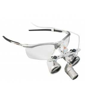 Ensemble HEINE LoupeLight 2 avec loupes HR 2.5x / 340
