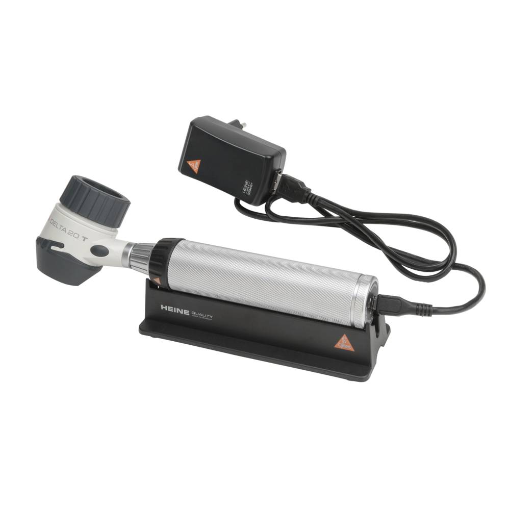 Dermatoscope HEINE DELTA 20T avec USB poignée rechargeable