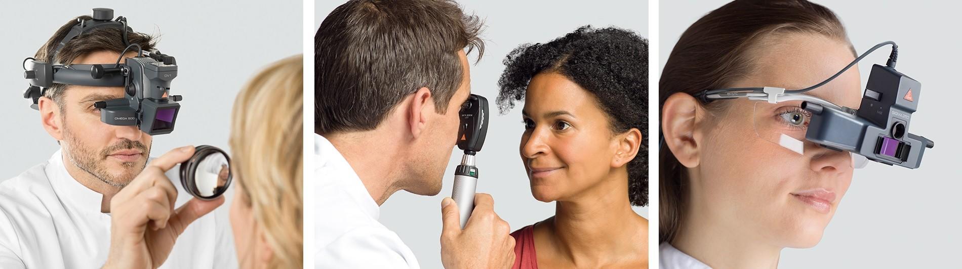 Solutions pour l'ophtalmologie signées HEINE