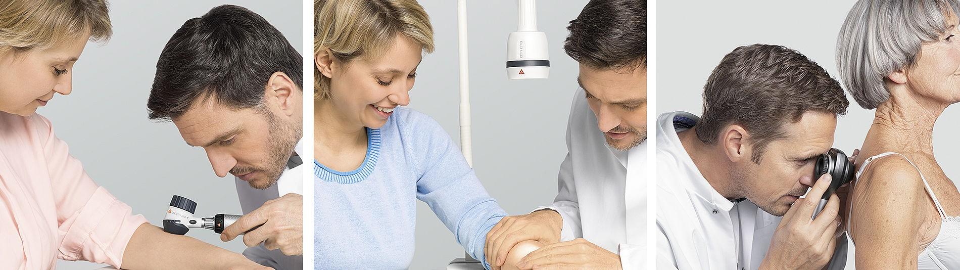 Solutions pour la dermatologie signées HEINE